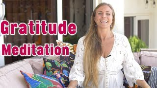 Gratitude Meditation | Ground and De-Stress | Yoga Girl | Rachel Brathen