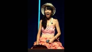 AKB48柏木由紀ちゃんがラジオ番組100回記念のお祝いメッセージで大好き...