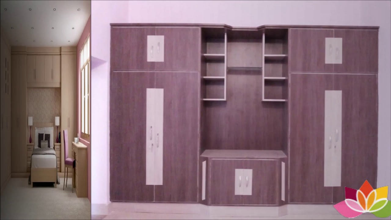 Wardrobe Designs For Bedroom - Wooden & Cupboard Wardrobe Ideas