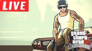 [LIVE] #1 Grand Theft Auto: San Andreas (GTA) - Modo História