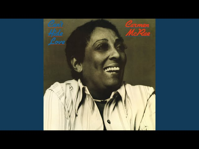 Carmen mcrae music lyrics genius lyrics stopboris