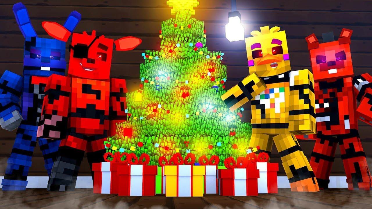 Nightmare Before Christmas ?!   Minecraft FNAF Roleplay