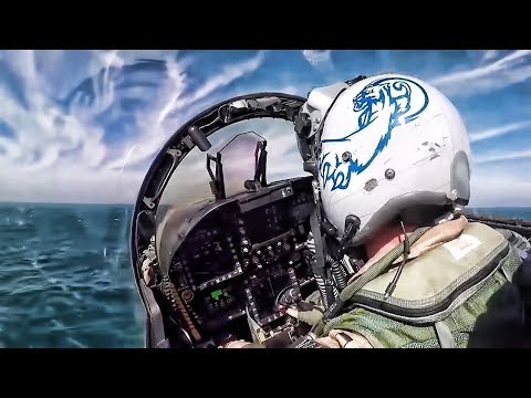 Jet Launch From USS Theodore Roosevelt • Cockpit View