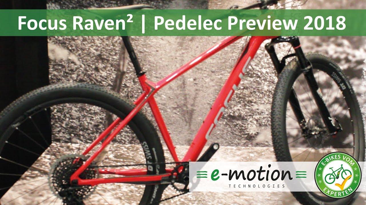focus raven e bike neuheiten 2018 pedelec preview. Black Bedroom Furniture Sets. Home Design Ideas
