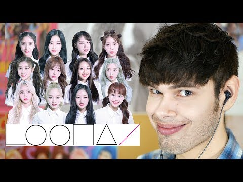 REACTING TO LOONA (literally every video)