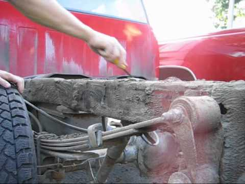 Frame Cleaning 1994 chevrolet silverado 1500 OBS ECSB ...