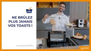 Que peut-on faire avec le nouveau grille-pain multifonctions Magimix ? Thomas vous explique !
