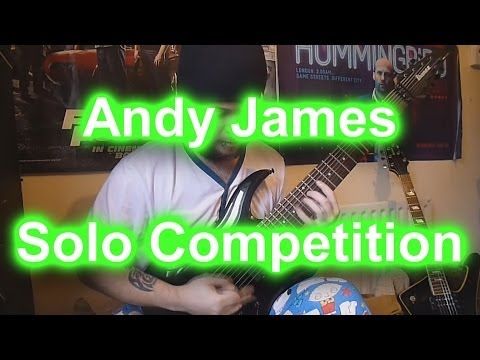 Andy James Solo Competition - Blake Palmer