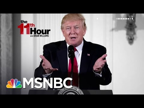 Naming Names, President Donald Trump Takes On Members Of His Own Party | The 11 Hour | MSNBC