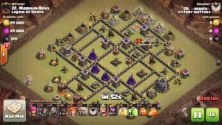 Clash of Clans - Ataques Th9 - Clan Victory Matters - Parte 1
