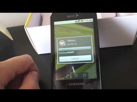 Samsung Transform Hands On and Sprint ID Walkthrough
