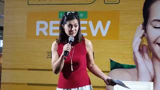 Alice Dixson Shares Beauty Secret at the Watsons Time to Renew Event