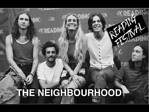 Sophie Eggleton chats to The Neighbourhood at Reading 2016