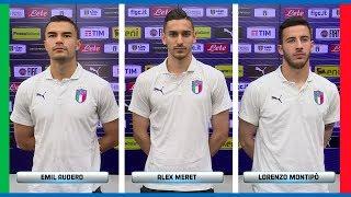 Intervista tripla: Audero, Meret, Montipò - Euro U21