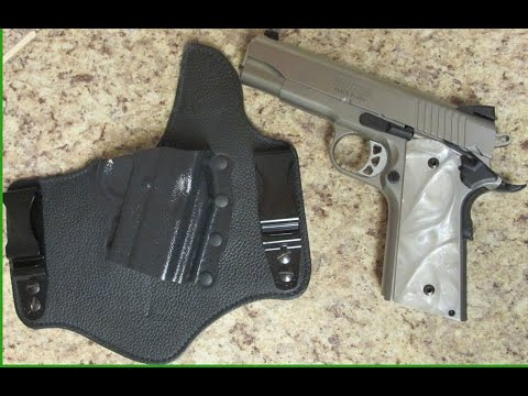 Galco King Tuk concealment holster review