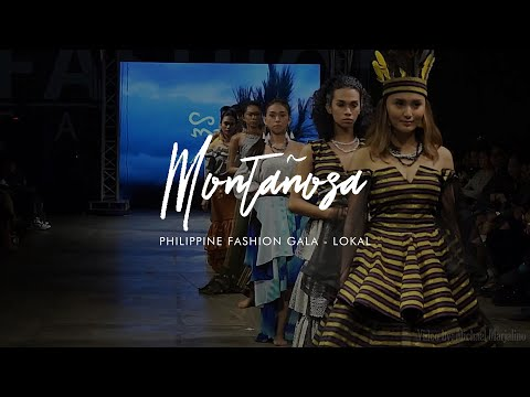 """Montañosa"" - Philippine Fashion Gala 2018"