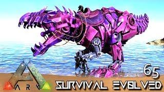 ARK: SURVIVAL EVOLVED - BABY TEK GIGANOTOSAURUS BREEDING GIGA !!! E65 (MODDED ARK EXTINCTION CORE)