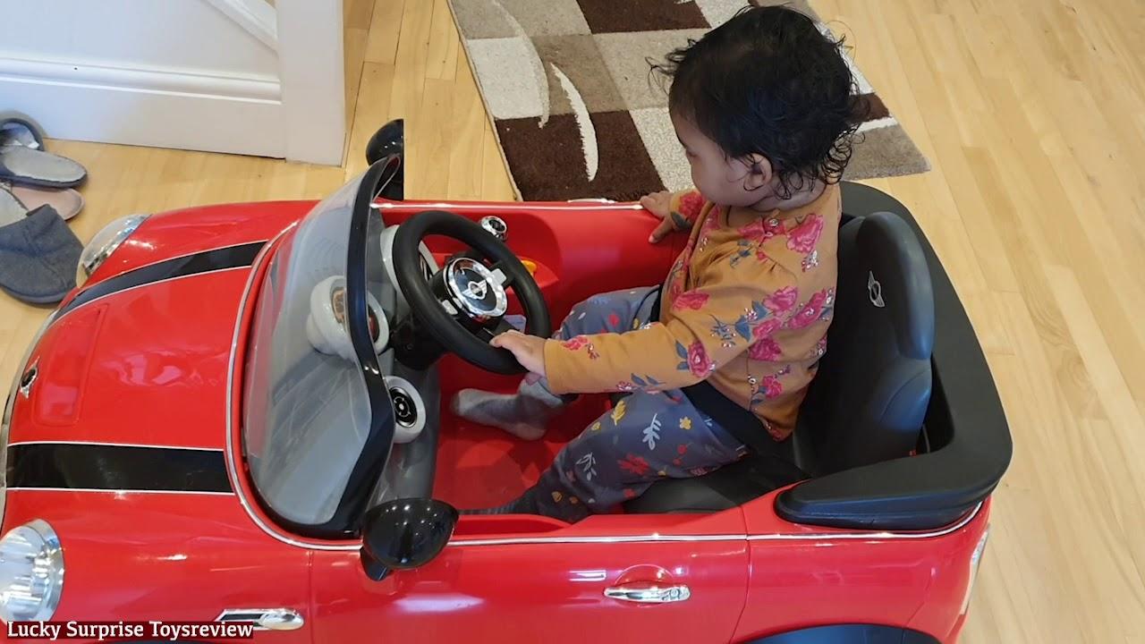Arfi's Play time with Toy Car