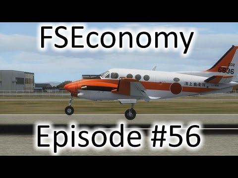 FSX | FSEconomy Ep. #56 - Santa Ana to Van Nuys | King Air C90B