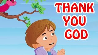 Thank You God | English Prayer For Kids