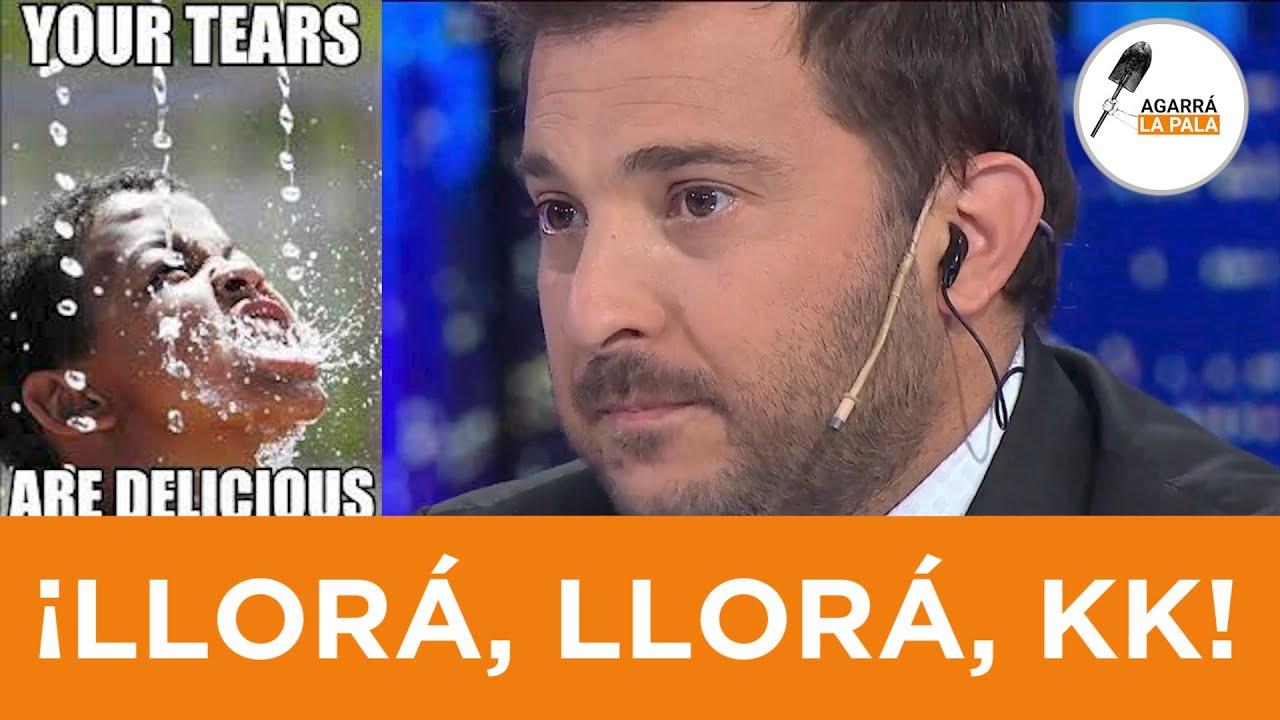 Download LE ROMPIERON EL TUJE: ¡El payaso BranKatelli llorando a baldes por la paliza al Frente de Chorros!