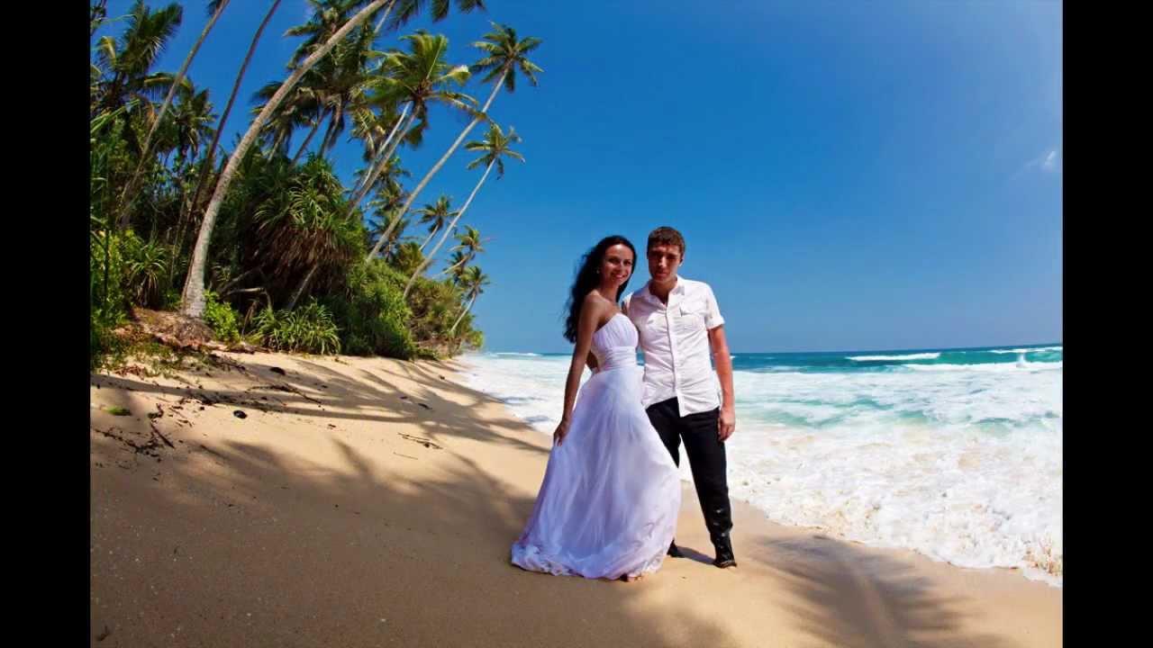 Wedding Ceremony At The Beach, Sri-Lanka