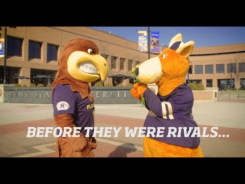 Before They Were Rivals - Kent State Version