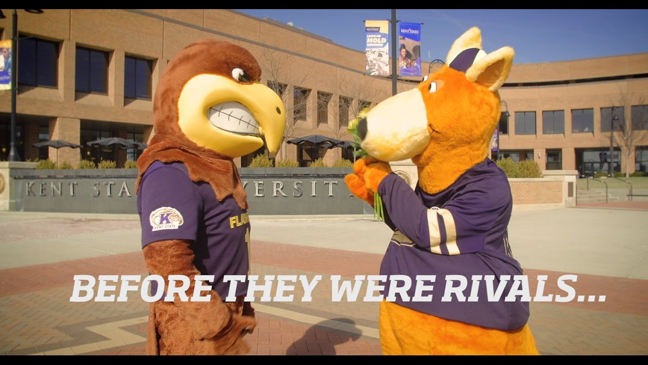 before they were rivals kent state version youtube
