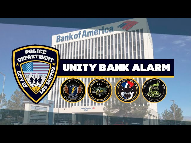 UNITY BANK ALARM | GRINCH RP