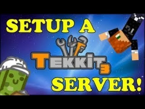 TUTORIAL HOW TO MAKE A MINECRAFT TEKKIT SERVER!! MADE EASY!!