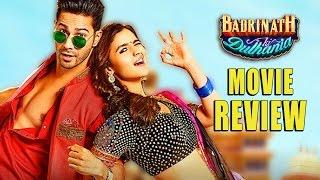 Badrinath Ki Dulhaniya : Movie Review | Varun Dhawan, Alia Bhatt