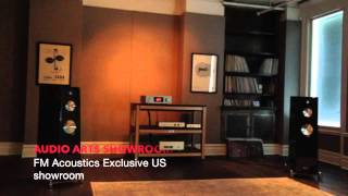 Zellaton and FM Acoustics at Audioarts NYC, exclusive US showroom