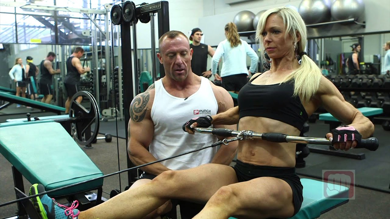 Wide Grip Seated Row - YouTube