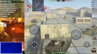 Running TDs Live World of Tanks Blitz with Bushka