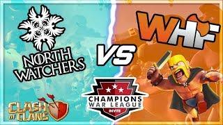 META CWL Invite Attacks | North Watchers VS WHF Recap | Best 3 Star Strategies | Clash of Clans