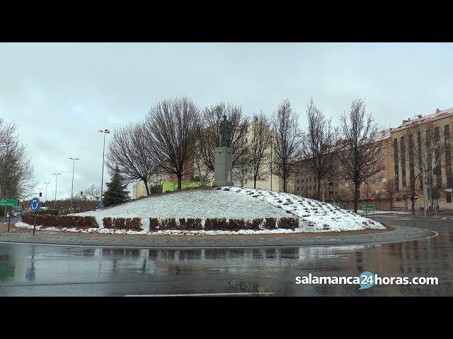 Nieve en Salamanca | 17 de marzo de 2018