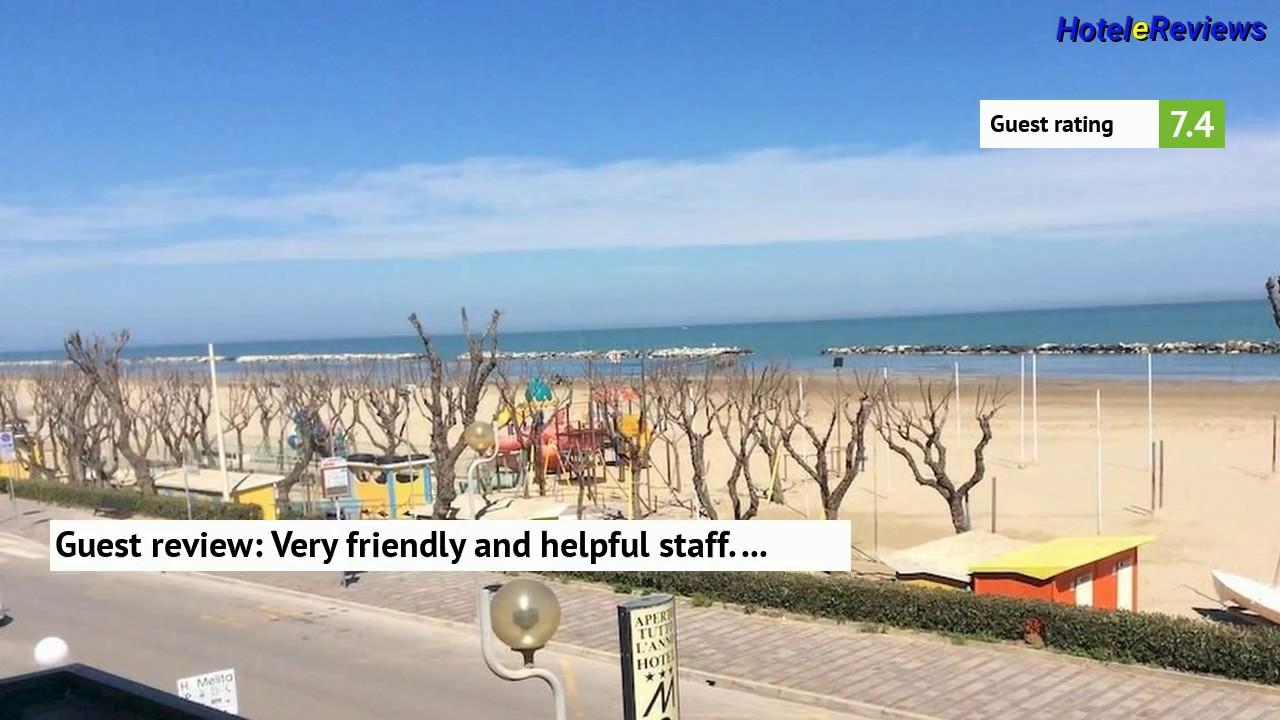 Hotel Melita Hotel Melita Hotel Review 2017 Hd Viserba Italy Youtube