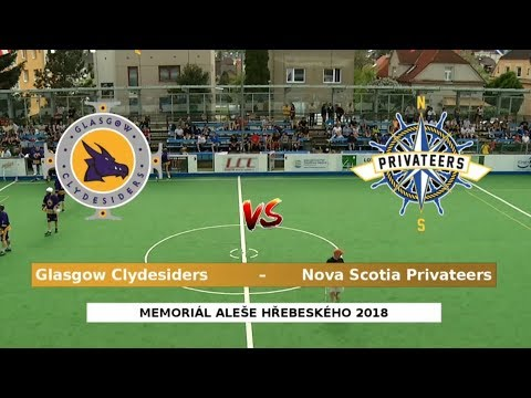 Glasgow Clydesiders – Nova Scotia Privateers | 2018 Aleš Hřebeský Memorial: Gold D