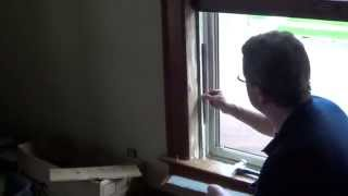 How to Replace Window Sash Cords - Sash Weight to Cord