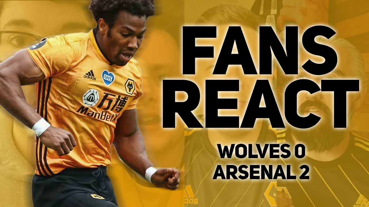 Wolves Fans React To 2-0 Loss Against Arsenal