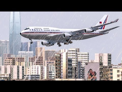Boeing 747 Crash in Hong Kong | Into The Storm | China Airlines Flight 605