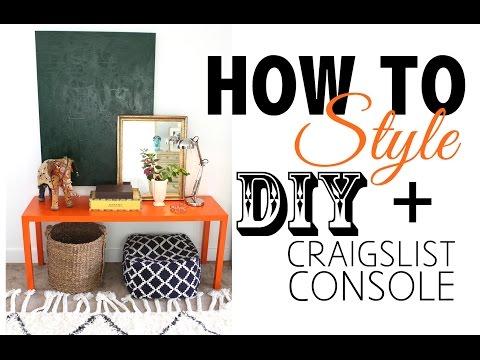 DIY Craigslist Furniture - Before & After
