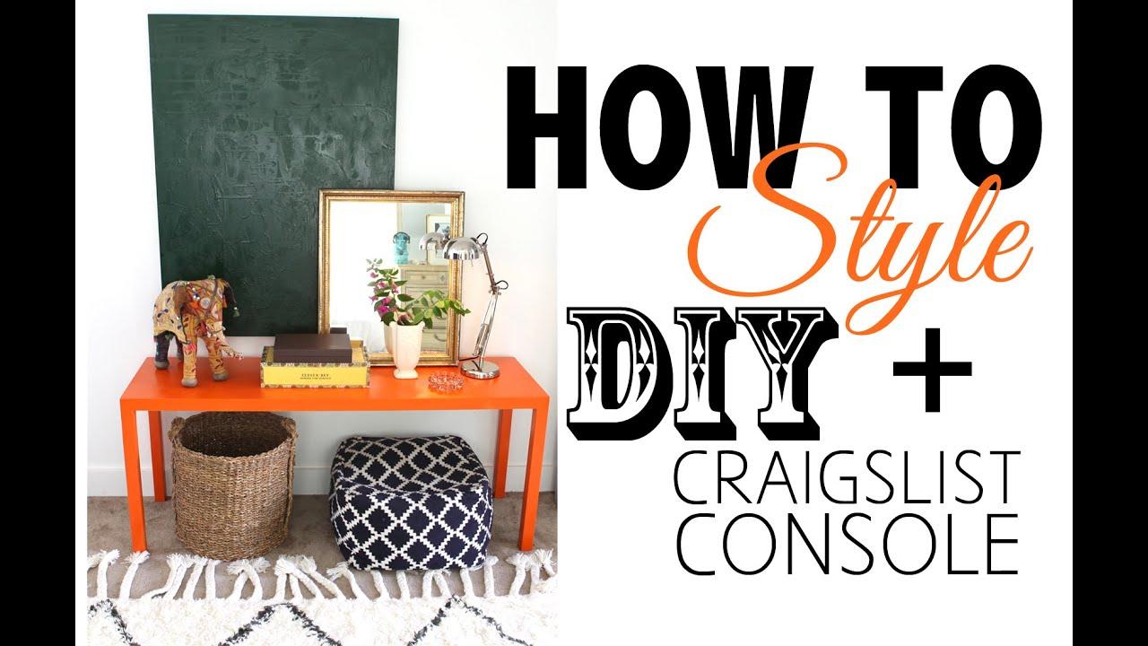 DIY Craigslist Furniture   Before U0026 After