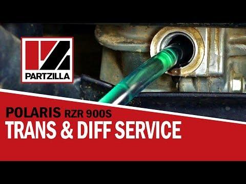 Polaris RZR Transmission and Gearcase Fluid Change | RZR 900S  | Partzilla.com