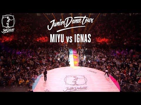 Junior Dance Tour quarter final Miyu vs...