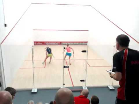 Rachel Cooper v Jill Griffiths Ladies 354045+