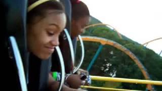Six Flags Over Georgia Roller Coasters The Georgia Scorcher The Ninja Mind Bender & Acrophobia