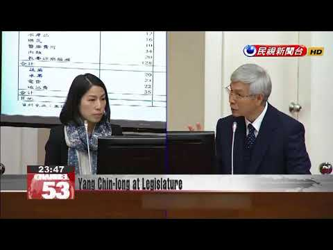 Yang Chin-long has first audience at legislature as Central Bank Governor