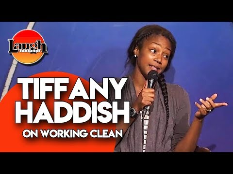 Tiffany Haddish On Working Clean | Laugh Factory