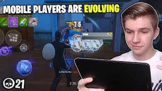 Fortnite Mobile Players are Evolving (21 Kills Solo Gameplay)